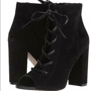 Sam Edelman Yvie lace-up suede bootie